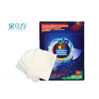 Buy cheap Colour Grabber Laundry Sheets Color Absorbing / Colour & Dirt Catcher Sheet from wholesalers