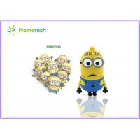 Buy cheap Minions usb flash drive disk memory stick Pen drive personalized pendrive 4gb 8gb 16gb 32gb key chain from wholesalers