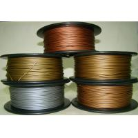 Quality Aluminum Copper Bronze Red Copper Brass 3d Printer Filament 1.75mm Good Gloss for sale