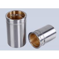 China Carbon Steel TOB Bi Metal Bearings / CuPb24Sn Steel Bushings wholesale
