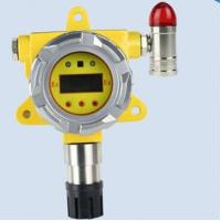 China Auto industrial carbon monoxide gas detector with alarm strobe lights and RS485 signal out on sale