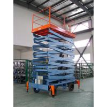 China Vertical hydraulic elevating platform , Hospital telescopic electric scissor lift wholesale
