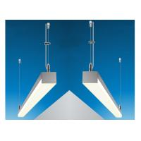 Quality Power Feed Steel Cable Suspended Wire Lighting Kit For Aluminium Profiles for sale