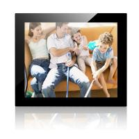 China 17 Inch Mirror Cover Desktop Digital Photo Frame With 1024*768 Resolution wholesale