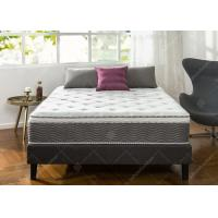 China Luxurious Hotel Bed Mattress Customized Size 18cm Bonnell Spring Knitted Fabric wholesale