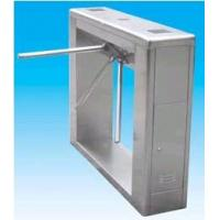China Manual 304 stainless steel security turnstile gate with single direction management wholesale