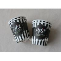 Buy cheap Glossy Lamination Disposable Single Wall Paper Cups 7oz for tea , ice cream from wholesalers