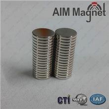 China Disc magnets neodymium n35 n45 n40 n42 n38 n48 D12x2mm free samples wholesale