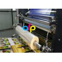 China Water Based Laminate Cold Laminating Film , Multiple Extrusion BOPP Plastic Film wholesale