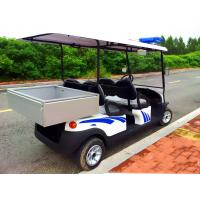 Buy cheap Battery Powered Custom Electric Golf Carts , Electric Patrol Car 8 Hours from wholesalers