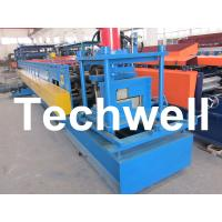 China Z Channel / Section / Profile Cold Roll Forming Machine For 80 - 300 Width Z Channel wholesale