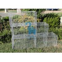 China Portable Small Steel Gabion Baskets Wire Cages For Stone Walls wholesale