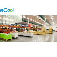 Quality Walk In Food Storage Warehouse , Freon R22 / R404a Cold Storage Area for sale