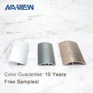 China 3m Length Metal Tile Edging Aluminum Carpet Smooth Edge wholesale