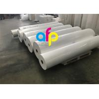 Quality High Grade Matte Film Lamination, White Bopp Thermal Film For Paper / Paperboard for sale