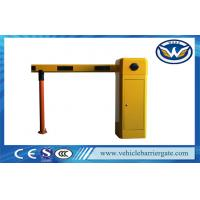 China Electronic Parking Gate Barrier Aluminum alloy For Parking System wholesale