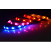 China Durable Solar Pink Led Pet Collar USB Safety Lighted Dog Collars Glowing In Dark wholesale