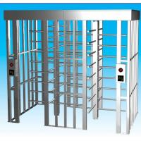 China Access Control CE Full Height Turnstile 304 Stainless With LED Direction wholesale