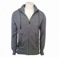 China Men's Cotton Sweater, Body Warmer and Fashionable wholesale