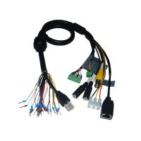 Quality Security Cable Group Bus RJ45 Plug to RJ45 Socket plus BNC Female Cable for sale