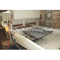 China Color Steel Stone Coated Roof Tile Machine Line wholesale