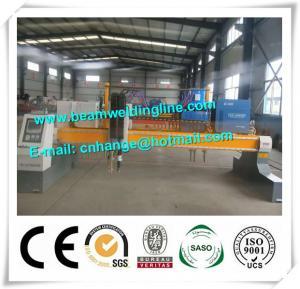 China Steel Plate CNC Plasma Cutting Machine , Plasma Metal Cutter Machine on sale