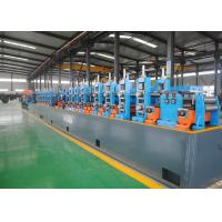 China High Performance Carbon Steel ERW Pipe Mill , Steel Pipe Manufacturing Machine wholesale