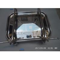 Quality Good Source Of Materials Stainless Steel Tank Manhole High Quality Sanitary Rectangle Man Hole Manhole Cover for sale