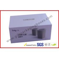China Blue Tooth Speaker Magnetic Rigid Gift Boxes White And Blue Custom Packaging Boxes wholesale