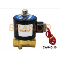 Quality AC DC 24V Pneumatic Solenoid Valve 2W040-10 Water Industrial Application for sale