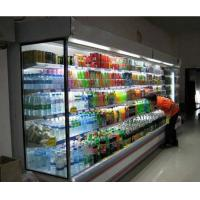 China Milk Front Open Face Refrigerated Display Cabinets 3m  Adjustable Multideck wholesale