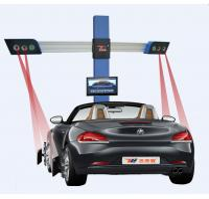 China Car Correct Machine 3excel Wheel Aligner , 3D Camera Space Four Wheel Alignment wholesale