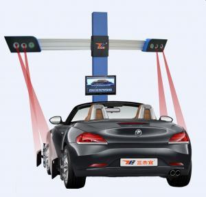 China High Precision Automatic 3excel Wheel Aligner , Portable Wheel Alignment Machine wholesale