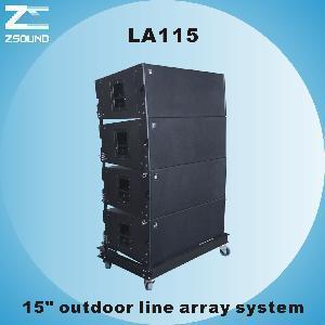 "China LA115 15"" Two-Way PRO Audio Line Array wholesale"
