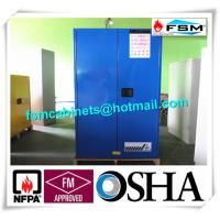 Quality 60 Gallon Corrosive Storage Cabinets Flameproof For Hydrochloric Acid / Acetic Acid for sale