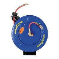 China Goodyear Safety Series Dual Hose Spring Rewind Hose Reel for Oxy-Acetylene wholesale