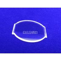 Quality 85% - 99% Transmissivity Synthetic Sapphire Glass H9/HV1800-2200 Hardness for sale