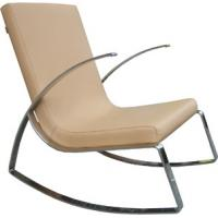 China Ginotti Leisure Modern Upholstered Chairs , Rocking leather chairs , Rock Chair wholesale