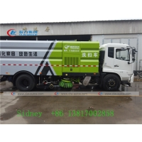 China Dongfeng Tianjin Diesel Engine 12m3 Vacuum Sweeper Truck wholesale