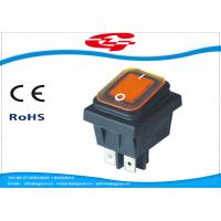 China Waterproof 4 Pin Rocker Switch , KCD4-130FS On - Off Replacement Rocker Switch wholesale