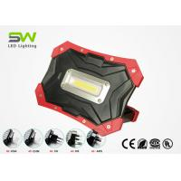 China Waterproof IP65 Cordless Led Inspection Light Rechargeable LED Work Light With Flexible Magnet Handle , 5V Power Bank wholesale