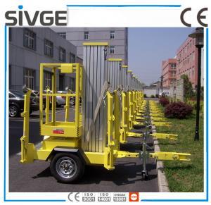 China 630 * 650mm Platform Mobile Elevating Work Platform 8 Meter For Auto Stations wholesale