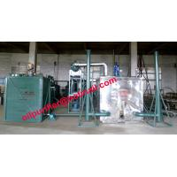 China Black car engine oil recycling system, black motor oil refinery vacuum distillation Purifier Machine on sale