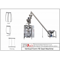China Quad Seal Bagger Automatic Filling And Packing Machine For Cocoa, Icing Sugar Powder wholesale