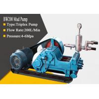 Quality High Pressure Triplex Drilling Mud Pump with Diesel / Hydraulic / Electric for sale