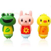 China Mini cartoon massager massager key chain yellow duck wholesale