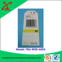 Buy cheap paper Printable Rfid Labels For garments Euro standard new style and high quality clothing paper rfid tag product