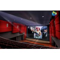 China Huge Amazing 4D Movie Theater with Metal Flat Screen , Genuine Leather + Fberglass wholesale