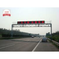 China P25 Full Color LED Variable Message Signs , Highway Message Boards Refresh Rate Over 500Hz on sale