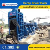 China WANSHIDA Hydraulic Scrap Metal Shear Baler for Waste Car Bodies Light Scrap Metal Copper Steel wholesale